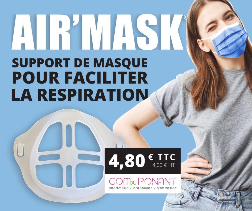 Air'Mask Nouveauté chez la Com du Ponant